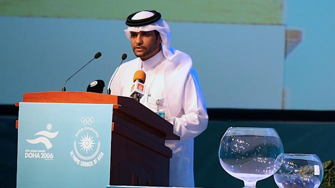 Sheikh Saoud Bin Abdulrahman Al-Thani, Secretary General of the Qatar National Olympic Committee and Board member of the Doha Asian Games Organising Committee, in Doha, on September 6, 2006