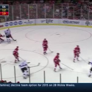 Jimmy Howard Save on Drew Doughty (14:15/2nd)