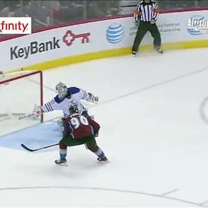Ryan O'Reilly puts home dish from MacKinnon