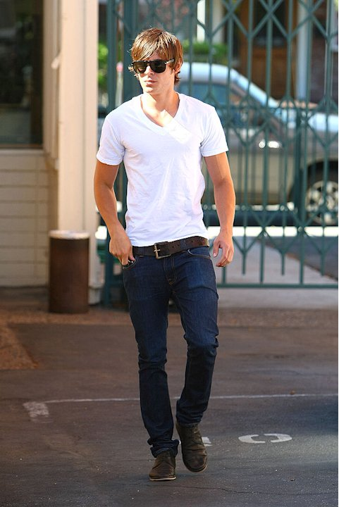 Efron Zac Leaving Lunch