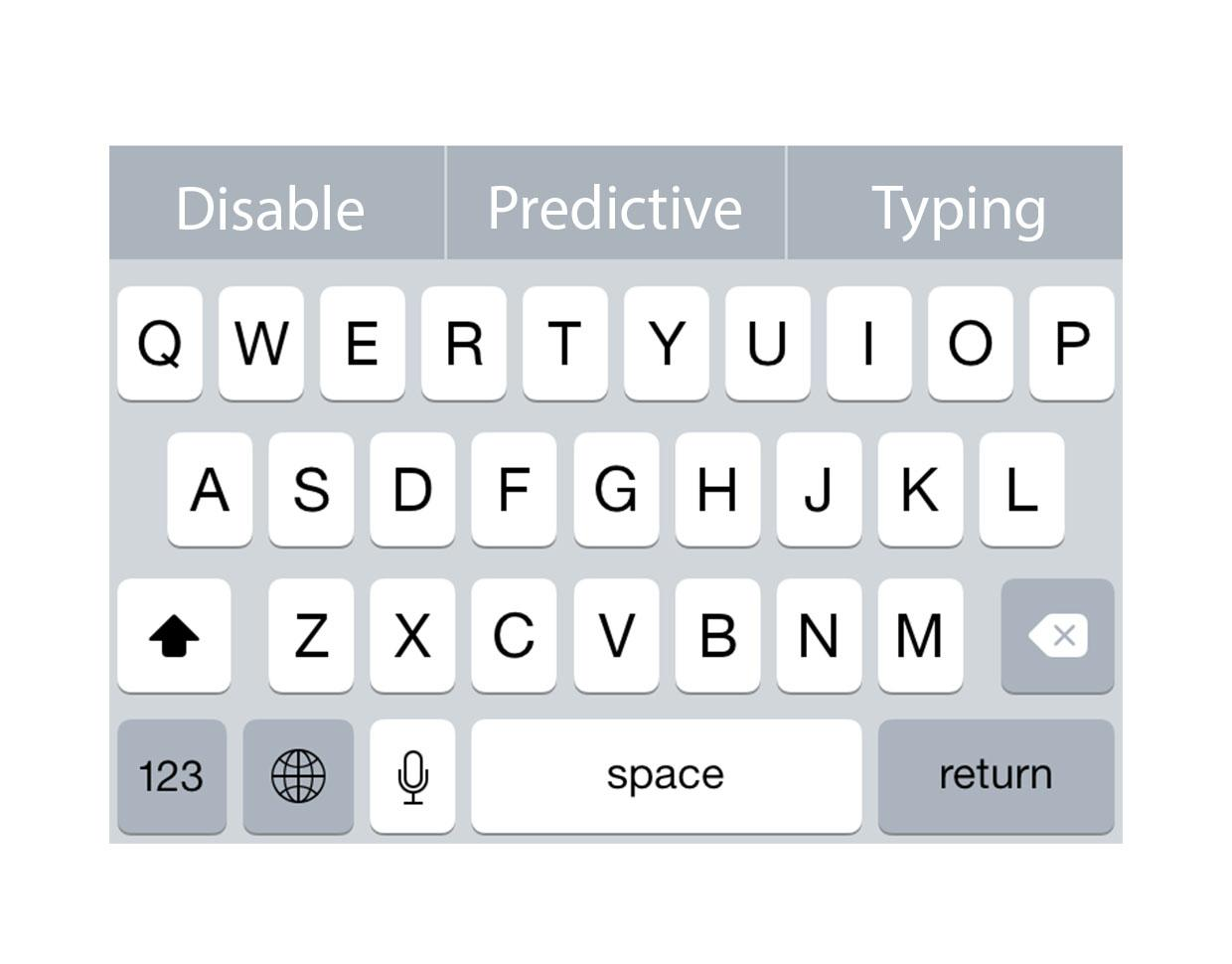 Pro tip: Enable or disable predictive typing in iOS 8