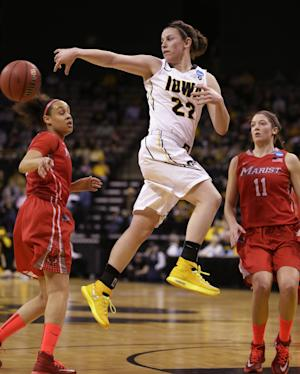 Iowa women blow out Marist 87-65