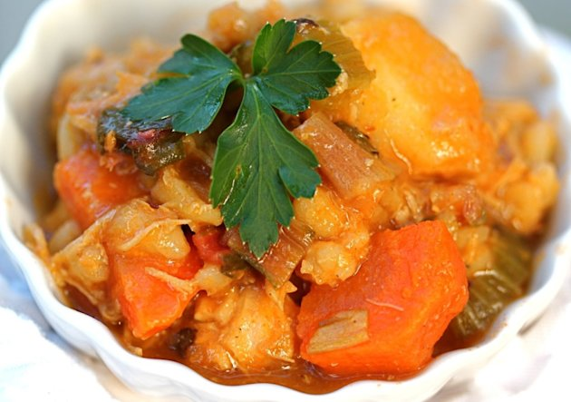 Hearty Chicken & Vegetable Stew