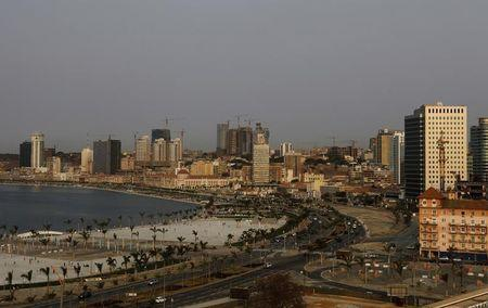 A general view of the capital Luanda