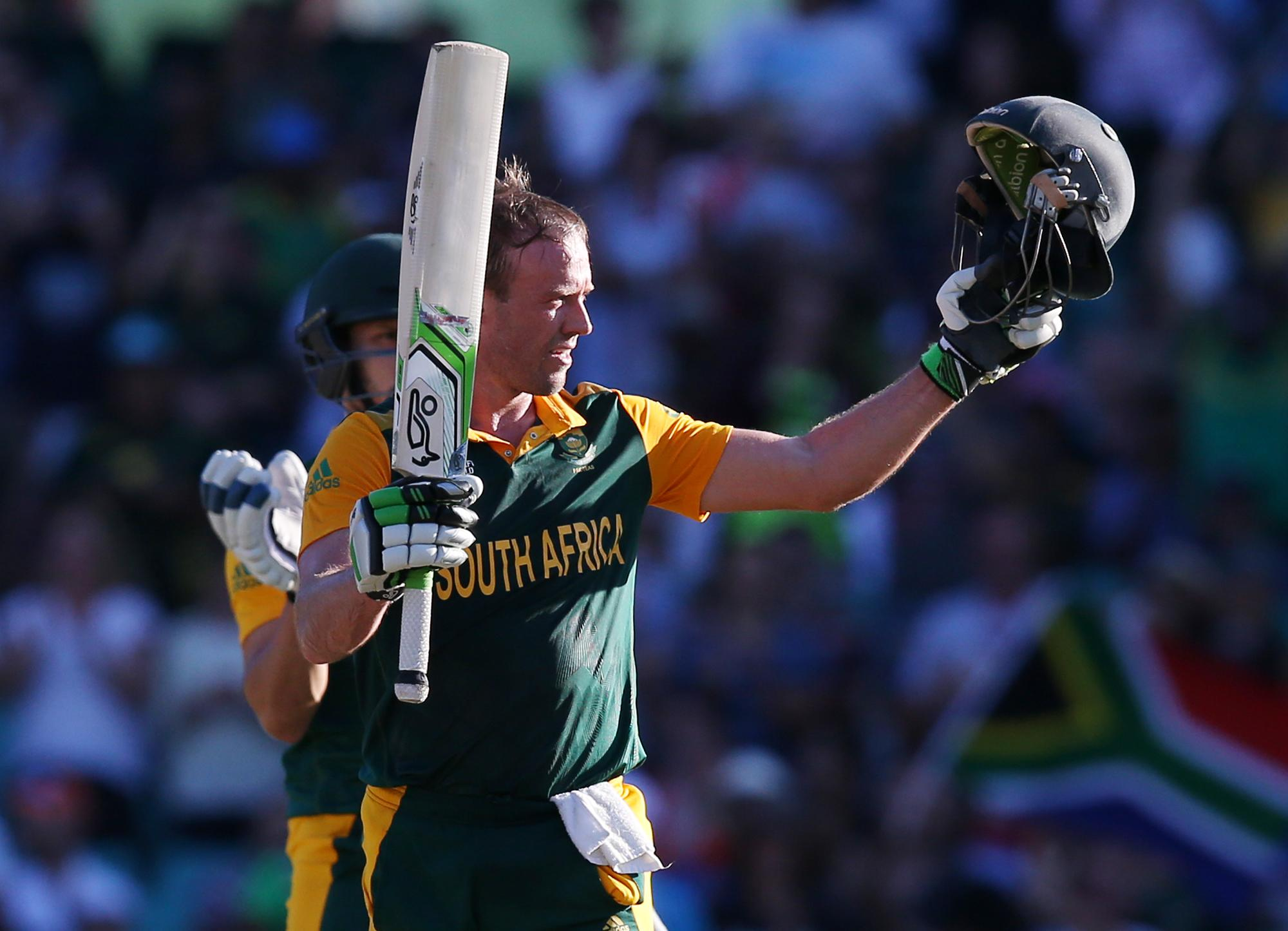 De Villiers expected to score big against Irish in World Cup