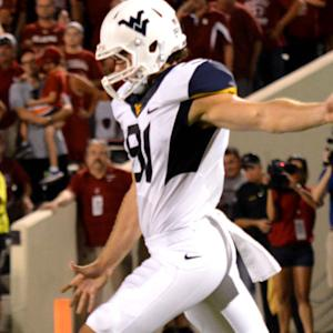 West Virginia Punter Nick O'Toole