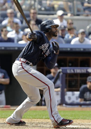 Heyward hit 2 homers, Braves outslug Yankees