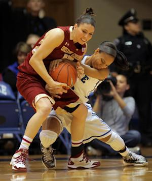 Jackson paces No. 3 Duke women to easy rout of BC