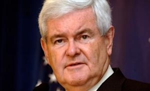 Newt Gingrich has joined a small chorus of conservatives comparing President Obama's quick reaction to Hurricane Sandy to his slow response to the Benghazi attacks.