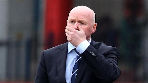 John Brown was angry following defeat to Dundee United