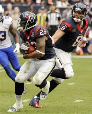 Schaub throws 2 TDs in Texans' 21-9 win over Bills