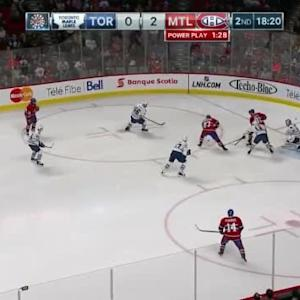 Jonathan Bernier Save on P.K. Subban (01:42/2nd)