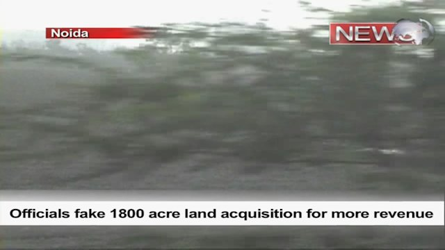 Officials fake 1800 acre land acquisition for more revenue