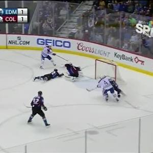 Semyon Varlamov Save on Anton Lander (15:46/1st)