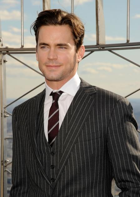 Matt Bomer visits the Empire State Building's world-famous 86th Floor Observatory in New York City on January 18, 2012 -- Getty Premium