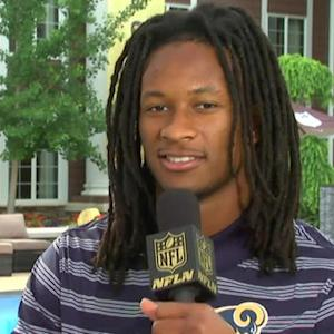 St. Louis Rams running back Todd Gurley: My biggest goal is getting back on the field