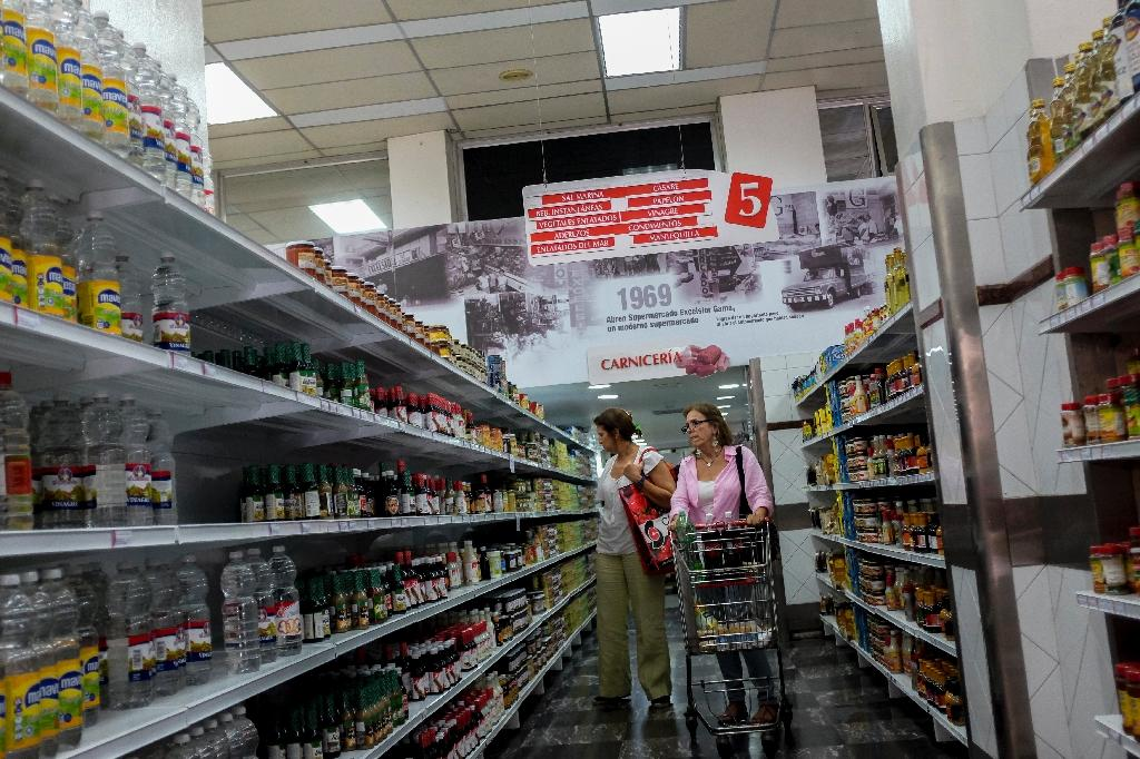 Food back in Venezuelan markets, but who can afford it?