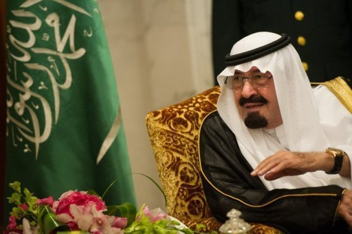 King Abdullah of Saudi Arabia, pictured here on November 4, has &quot;successfully&quot; undergone a new operation to correct &quot;a ligamentary slackening in the upper back&quot;, the royal cabinet announced Sunday