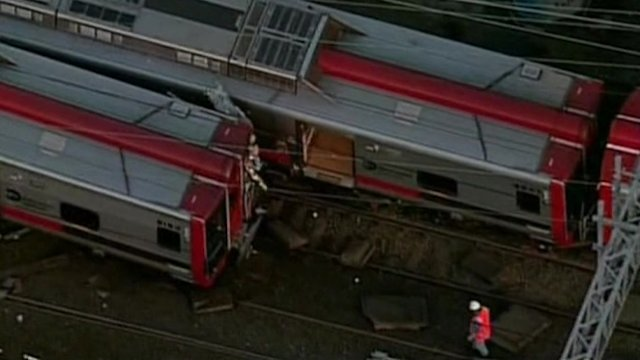 Commuter trains collide injuring up to 60 people
