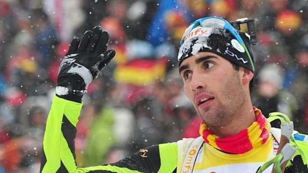 2012 Anterselva Martin Fourcade