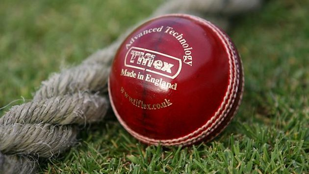 General view of the new Grade 1 Tiflex County Cricket Ball.