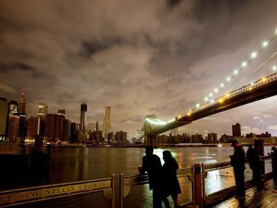Raw: As blackouts linger, New Yorkers adjust