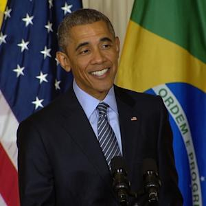 """President Obama talks about what made last week """"a really good week"""""""