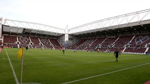 Tynecastle Stadium, home of Hearts (PA Photos)