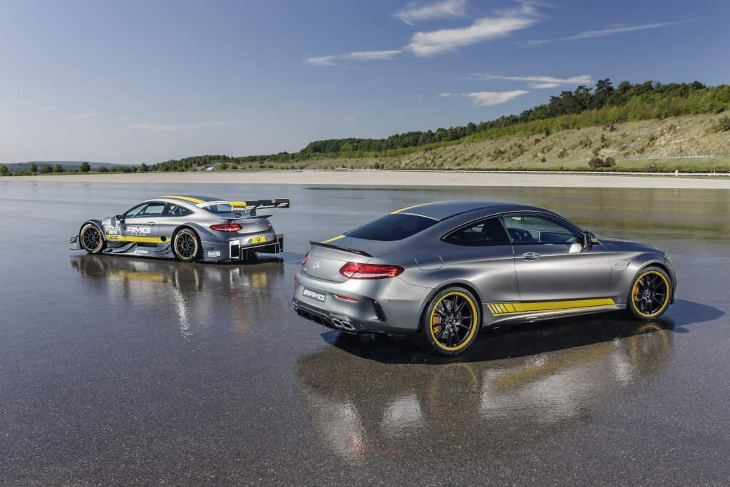 Limited-edition Mercedes racing to Frankfurt