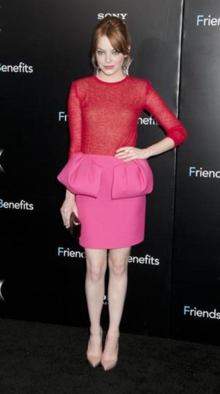Emma Stone in Giambattista Valli (Janet Mayer / PR Photos)