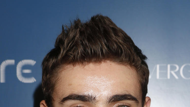 Nathan Sykes attends the US Weekly AMA After Party for The Wanted at Lure on Sunday November 19, 2012 in Los Angeles, California.  (Photo by Todd Williamson/Invision/AP Images)