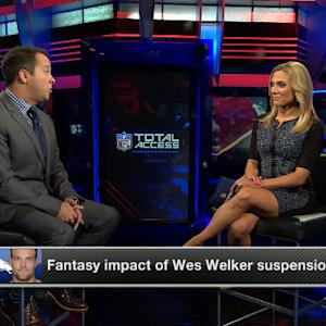 Fantasy impact of Denver Broncos wide receiver Wes Welker suspension
