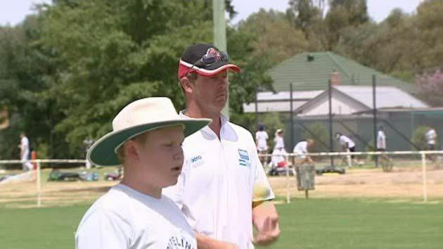 Local angle on cricket clinics