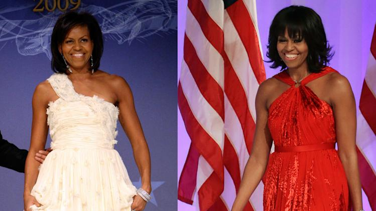 Michelle Obama wears Wu to the balls again