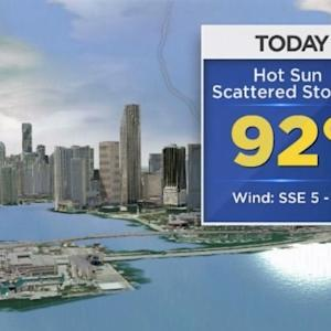 CBSMiami.com Weather 7/25/2014 Friday 12PM