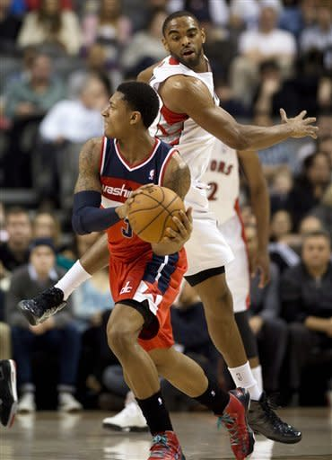 Wizards beat Raptors 90-84 for 3rd straight win