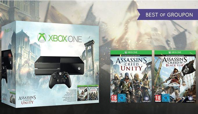 Get an Xbox One bundle for $296.09