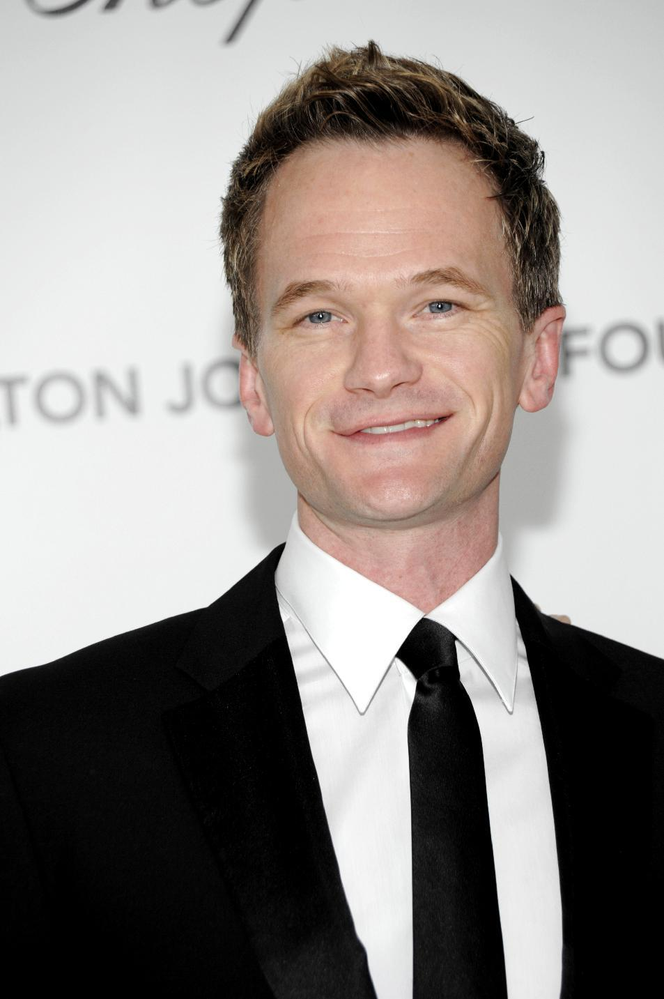 Neil Patrick Harris arrives at the Elton John AIDS Foundation Academy Awards viewing party in West Hollywood, Calif. on Sunday, Feb. 26, 2012. (AP Photo/Dan Steinberg)