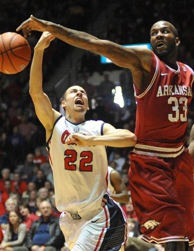 Mississippi beats Arkansas 76-64