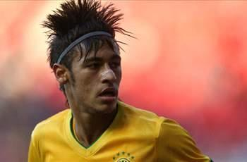 Mancini coy over Manchester City pursuit of Neymar