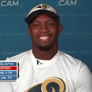 "St. Louis Rams wide receiver Tavon Austin joins ""NFL AM"""