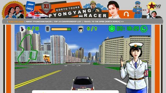 North Korean Video Game Has Western Ties