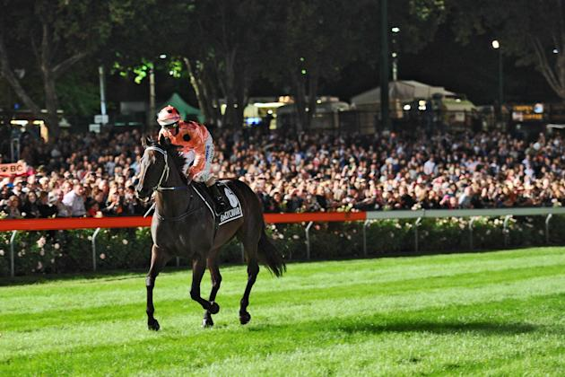 Black Caviar Racing At Moonee Valley