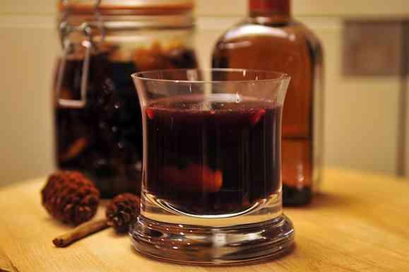 Spiced Glogg with Port Wine and Cointreau
