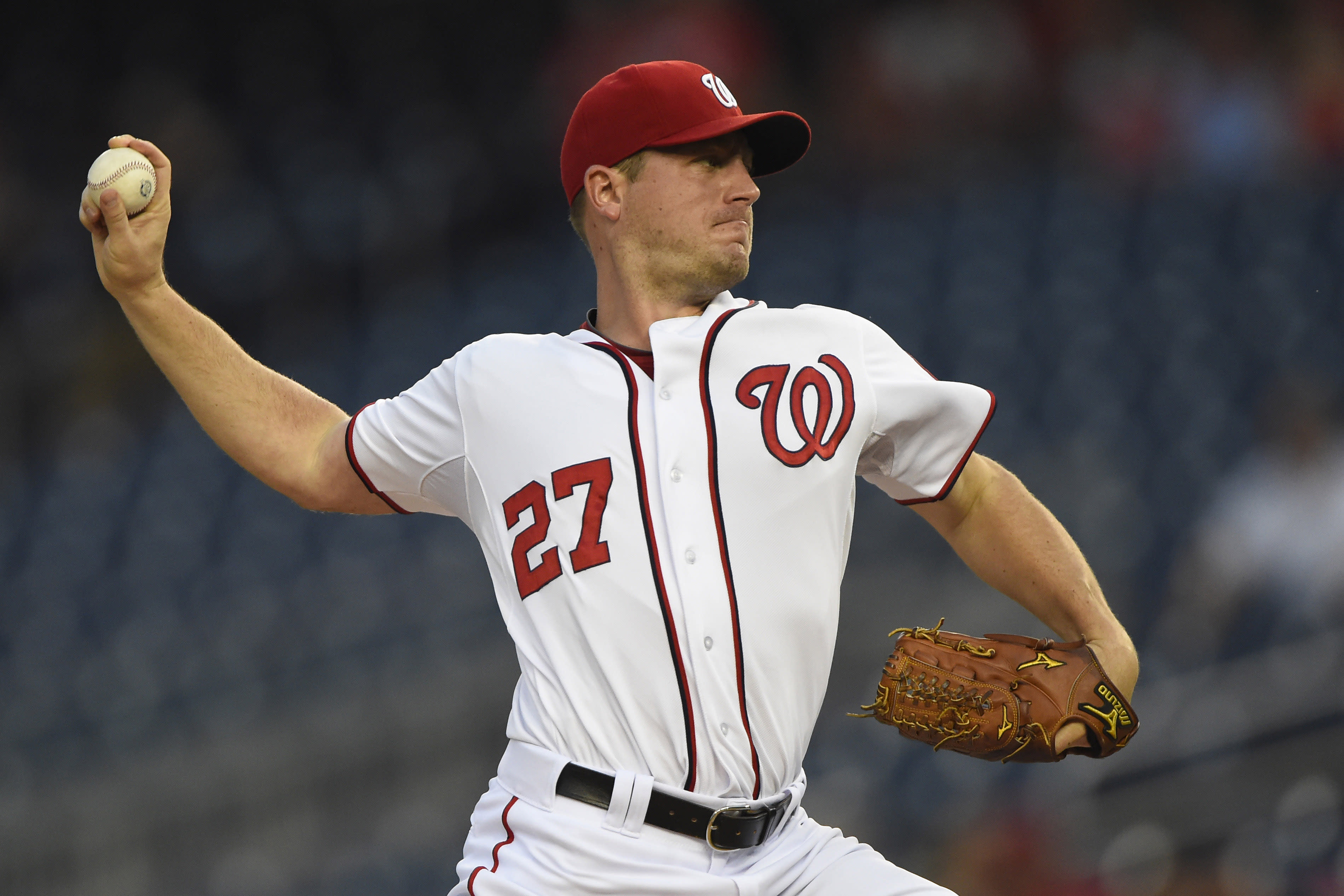 Blowout sets Zimmermann up nicely to face Mets