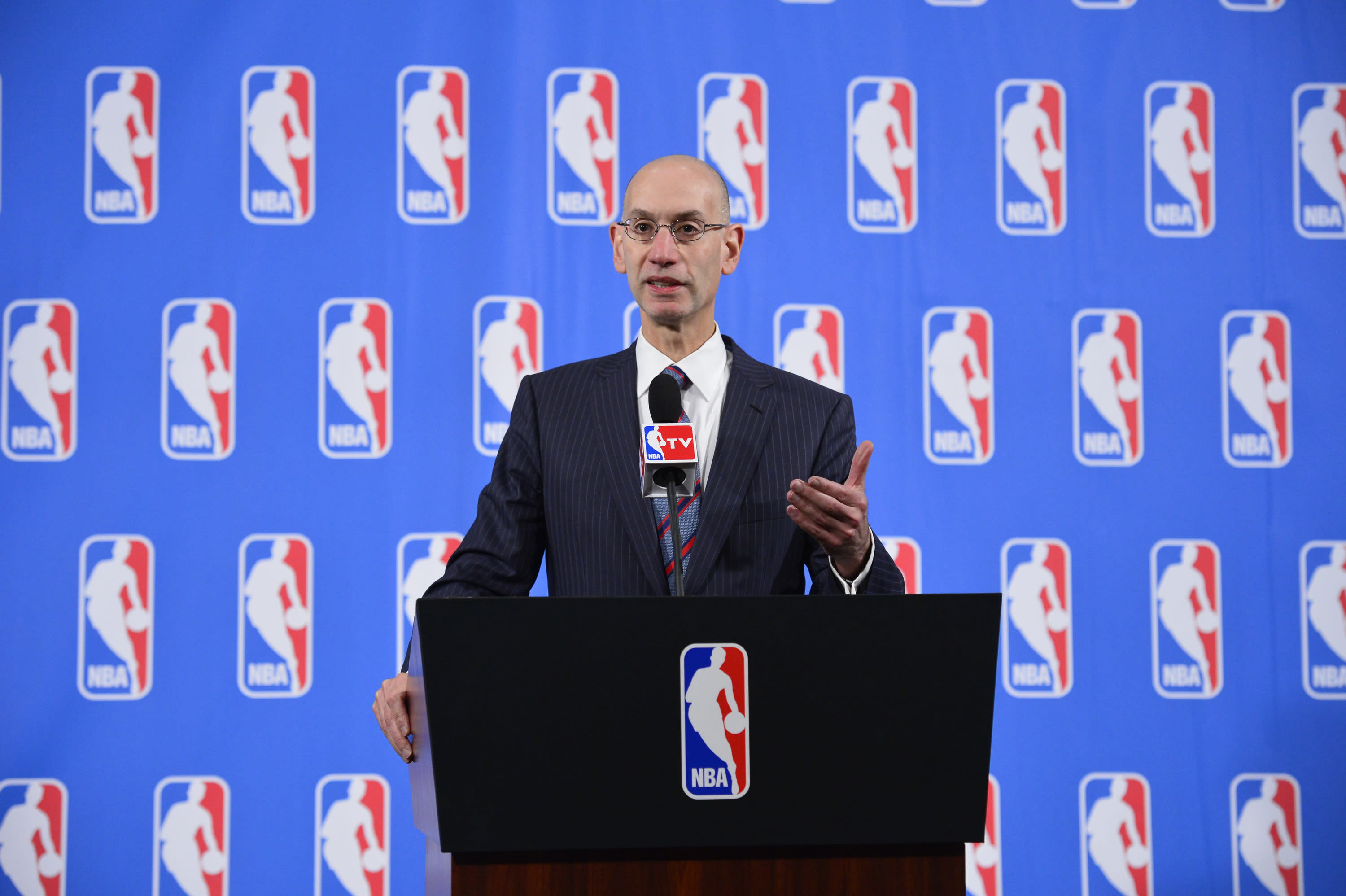 NBA could alter schedule, but no change to playoffs, lottery