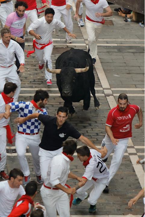 Fiesta De San Fermin Running Of The Bulls - Day 4