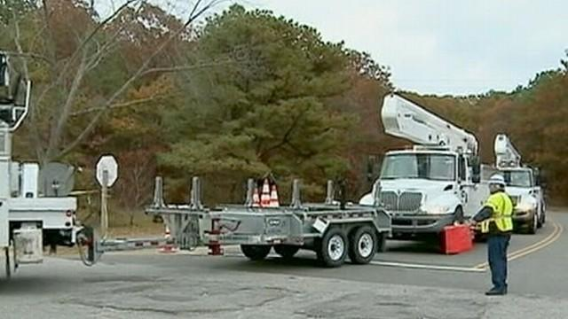 Hurricane Sandy: Widespread Power Outages Expected
