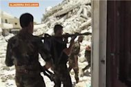 Syria rebels storm back against Assad forces