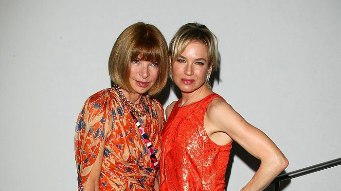 The September Issue NY Premiere 2009 Anna Wintour Renee Zellweger